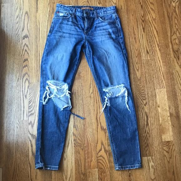 Joe's Jeans Denim - Joe's Jeans Billie Crop Boyfriend Jeans